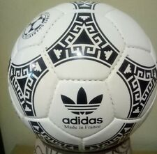 BLACK COLOUR ADIDAS OFFICIAL AZTECA MEXICO WORLD CUP  1986 SOCCER  BALL.