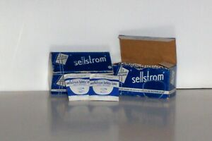 24 Vintage Sellstrom Replacement Safety Lenses MIB