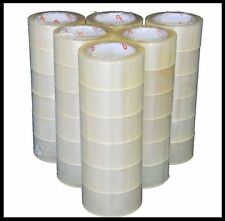 "36 Rolls Carton Sealing Clear Packing 2 Mil Shipping Box Tape 2"" X 110 Yards NEW"