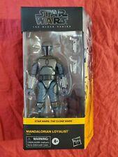 STAR WARS Hasbro Black Series Clone Wars Mandalorian Loyalist figure sealed