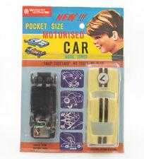 Vintage Lucky Toys Hong Kong Plastic Pocket Sized Motorised Car * MOC *