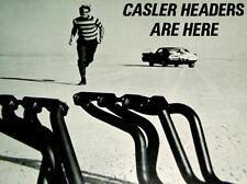 1969 CHEVY CAMARO SS/Z28  *ORIGINAL CASLER EXHAUST HEADERS AD *350/396 V8 engine