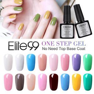 Elite99 UV LED One Step Gel Polish Varnish Manicure Nail Art Lacuqer Soak Off