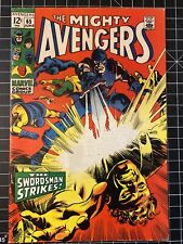 The Mighty AVENGERS #65 CGC 6.5 LAST 12 cent issue! Marvel Comics Silver age