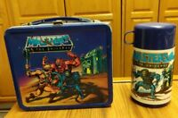 Vintage Masters Of The Universe Metal Lunchbox w/Thermos!  1983 Mattel