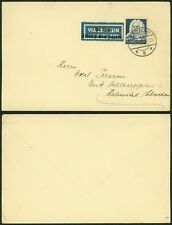 Germany 1935 - Zeppelin Flight Air mail cover Stuttgart 20953