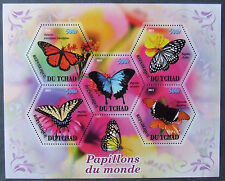 Tchad 2011 - Butterflies, 1 M/Sh, MNH, EP 003