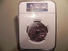 2011-P Gettysburg 5 oz Silver America the Beautiful Early Releases Coin NGC SP69