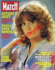 Paris Match n°1712 du 19/03/1982 Jane Fonda Marseille Lucet Courrières Christo