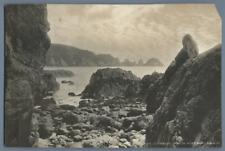 C.N. & CO. Royaume-Uni, Guernsey Moulin Huet Bay  Vintage print.  Tirage argen