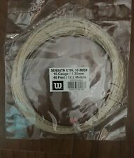 Wilson Sensation 16 Gauge Tennis Racket String 1.30 mm 40 FT/12.2 meters. New