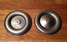 Roue tôle double flan de 65mm pour voiture JEP de 32cm
