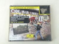 BEETHOVEN 9°SYMPHONIE - BERNSTEIN A BERLIN ODE A LA LIBERTE CD LTD W/BERLIN WALL