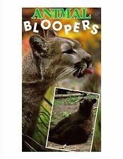 Animal Bloopers (VHS) zoo cougars bears New
