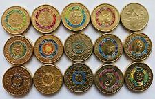 Australian $2 Coin BULK LOT 15 Coins.