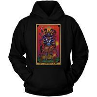 The Goddess Kali The Devil Tarot Card Hoodie Wicca Indian Hindu Witch Sweatshirt