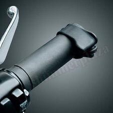 Grip Black Rubber Throttle Boss Motorcycle Cruise Control Assist Rocker Handgrip