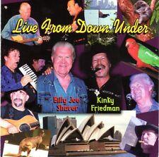 Kinky Friedman & Billy Joe Shaver - Live From Down Under - 2 CD set Americana