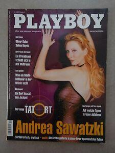 Fotos andrea sawatzki playboy Publicity: Warum