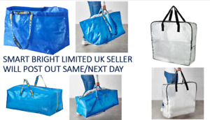 IKEA FRAKTA Storage Dimpa Bag Large 71l & 76l Plastic IDEAL 4 SHOPPING, LAUNDRY