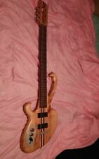 24 FRET RH/LH BOUTIQUE WISHBASS 6 ELECTRIC BASS GUITAR w/2 Kent Armstrong P/Us
