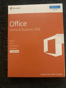 Microsoft Office 2016 Home and Business 32-bit/x64 Europe Medialess Win