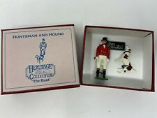 W Britains 49503 - Heritage Collection, Huntsman with Hound, NEW