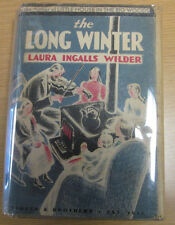 Laura Ingalls Wilder THE LONG WINTER First Edition in jacket !!