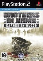 PS2 GAME: BROTHERS IN ARMS EARNED IN BLOOD 'PAL UK'