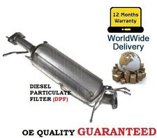 FOR MAZDA 3 2.0TD 2.0DT 12/2006-7/2009 DPF DIESEL PARTICULATE FILTER + FITTINGS