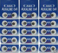 30 AG5 LR754 393 SR48 1.5 Volt Alkaline Cell Watch Batteries Ships From USA