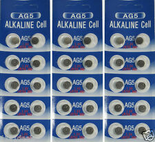 30 AG5 LR754 393 SR48 1.5 Volt Alkaline Cell Watch Batteries Ships From USA