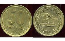ARGENTINE 50 centavos 1992  ( bis )