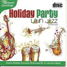 CHRISTMAS LATIN JAZZ HOLIDAY PARTY FESTIVE INSTRUMENTAL RELAXATIONAL MUSIC CD