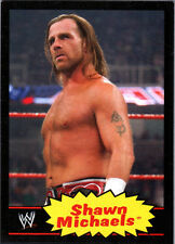 WWE Shawn Michaels #53 2012 Topps Heritage BLACK Parallel Card