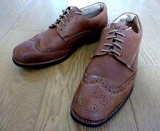 Anatomic & Co MANAUS COGNAC Men Brown Leather Lace Up Brogue Shoes UK 9 F+ EU 43