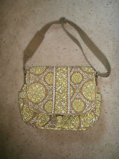 Vera Bradley LARGE MESSENGER BOOKBAG TRAVEL OVERNIGHT DIAPER Sittin in a Tree