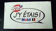 Autocollant sticker vintage publicitaire Bol d'or 97 Mobil 1