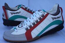 New Dsquared2 Men's Tennis Shoes Sneakers 551 Size 44 Vitello Sport