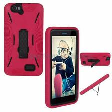 For SKY 6.0Q Heavy Duty Armor Kickstand Shockproof Case + Screen Protector