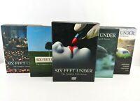 Six Feet Under Complete (Seasons 1-5, DVD) HBO TV Series | 24 Discs 63 Episodes