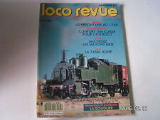 **e Loco Revue n°533 Us Freight Line au 1/60 / La 72000 Jouef / La Petolat