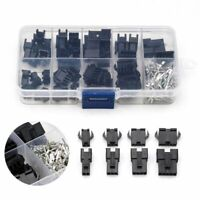 Connectors 2.54mm 2/3/4/5Pin Cable Pin Plug Terminal 200pcs/set Useful