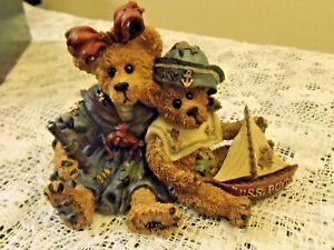 Boyd Bears Elvira Chauncey Fitzbruin Shipmates 1993 Old New Stock n Box SAILORS