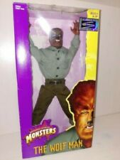 NIB 1998 Universal Monsters Hasbro Signature Series Wolfman Lon Chaney