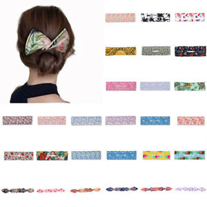 Women Knotted Lazy Hair Curler Magic Convenient Clip Wire Bow Hairpin Hair Decor