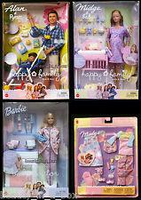 "Pregnant Midge Barbie Doll Baby Alan & Ryan Happy Family Doctor Fashion NRFB"" K3"