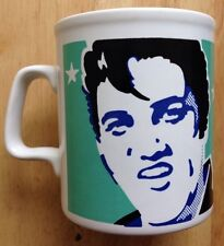 ELVIS PRESLEY COFFEE MUG, ANDY WARHOL POP ART STYLE, STAFFORDSHIRE, ENGLAND