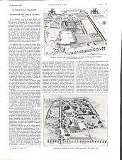 Abbaye de Vauluisant moulin des moines à Courgenay Yonne ILLUSTRATION 1926