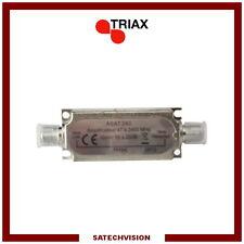 Amplificateur de Ligne ULB (47 à 2400 MHz) Gain 16 à 20 dB Triax ASAT 240